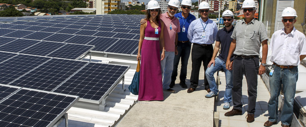 Visita do Instituto Ideal ao Megawat Solar