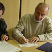 Assinatura de acordo com a Olade