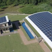 Crédito: Drone Fotovoltaica UFSC