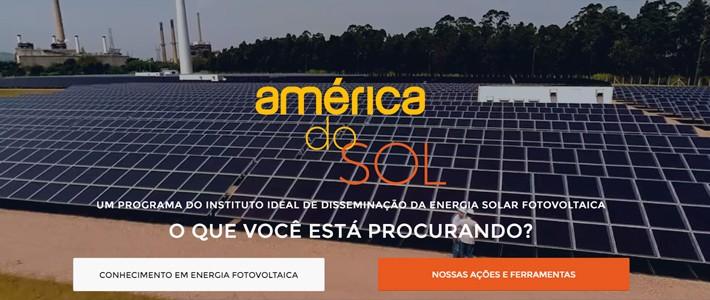 Novo América do Sol - inicial