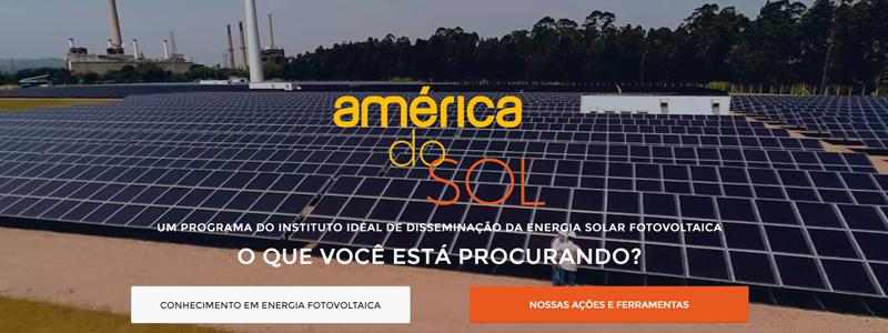 Novo América do Sol – inicial